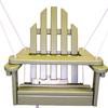 Prairie Leisure Design Sage Porch Swing