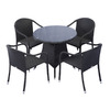 Source Outdoor Circa 5-Piece Aluminum Patio Dining Set