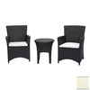 Source Outdoor 3-Piece St. Tropez Patio Conversation Set