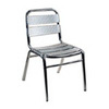 Alston Quality Industries Aluminum Patio Dining Chair