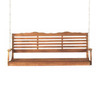 Jordan Manufacturing 3-Seat Wood Swing