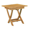 Jewels of Java 20-in x 20-in Teak Square Patio Side Table