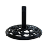 VIFAH Black Cast Iron Umbrella Base