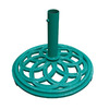VIFAH Green Cast Iron Umbrella Base