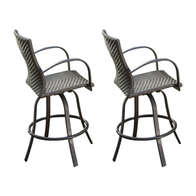 Shop Outdoor Greatroom Company Naples Barstool Chair At