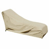 Swim Time Neutral Champagne Chaise Lounge Cover