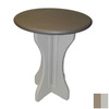 Confer Plastics Patio Essentials 30-in x 30-in Plastic Round Patio Dining Table