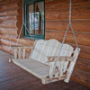 Montana Woodworks Montana Unfinished Hanging Porch Swing