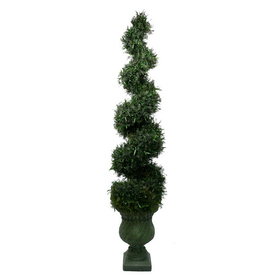 Laura Ashley by Vintage Home 7-ft Spiral Decorative Specialty Tree without Lights