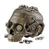 Design Toscano Rectangular Steampunk Skull Containment Vessel