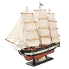 Design Toscano Wood and Metal Ship Replica of Constitution