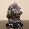 Wild Sports Metal Kansas City Chiefs Sculpture