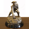 Wild Sports Metal New England Patriots Sculpture