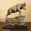 Wild Sports Metal St. Louis Rams Sculpture