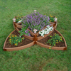 Scenery Solutions 144-in W x L x 18-in H Brown Composite Raised Garden Bed