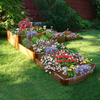 Scenery Solutions 144-in Brown Composite Raised Garden Bed