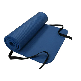 Amber Sporting Goods 72-in Blue Smooth Surface Exercise Mat