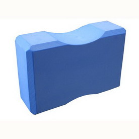Amber Sporting Goods Blue Yoga Block