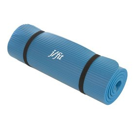 J FIT 72-in Blue Antimicrobial Foam Extra Thick Pilates Mat