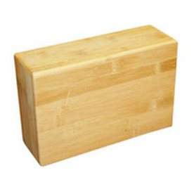 J FIT Bamboo Yoga Block