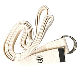 J FIT Cream Yoga Strap