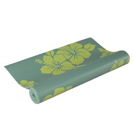 J FIT 5-ft 8-in Green Foam Yoga Mat
