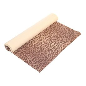 J FIT 5-ft 8-in Brown Foam Yoga Mat