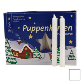 Alexander Taron 40-Pack 40-in White Candle Stick