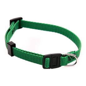 Majestic Pets Green Nylon Breakaway Collar
