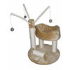 Go Pet Club 34-in Beige Faux Fur 2-Level Cat Tree