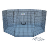 Go Pet Club 48-in x 24-in Black Indoor/Outdoor Exercise Pen