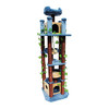 kitty mansions Honolulu 82-in Multiple Colors/Finishes Faux Fur Cat Tree