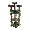 kitty mansions Redwood 75-in Multiple Colors/Finishes Faux Fur Cat Tree