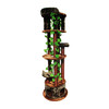 kitty mansions Tasmania 75-in Brown Faux Fur Cat Tree