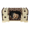 Snoozer Hot Fudge Giraffe Rectangular Dog Bed