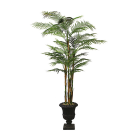 Laura Ashley by Vintage Home 8-ft Palm Decorative Specialty Tree without Lights