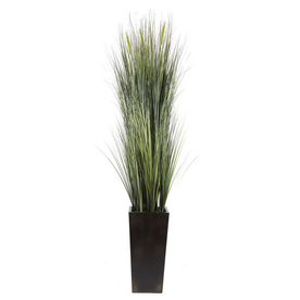 Laura Ashley by Vintage Home 7-ft Silk Green Onion Grass