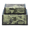 UMA Enterprises Set of 2 Rectangular Traveling Boxes