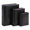 UMA Enterprises Set of 3 Rectangular Dictionary of Theology Book Boxes