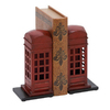 Woodland Imports Pair Metal Bookends