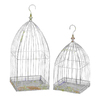 UMA Enterprises Metal Bird Cage Hanging Planters