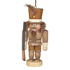 Alexander Taron Natural Wood Nutcracker Ornament