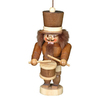 Alexander Taron Natural Wood Drummer Nutcracker Ornament