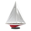 Authentic Models Wood and Cotton J-Yacht