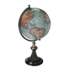 Authentic Models Brass, Wood and Paper Globe