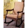 Furniture of America Liverpool Antique Oak Rocking Chair
