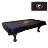 Holland 9-ft Georgia Bulldogs Billiard Table Cover