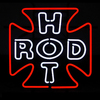 Neonetics Rod Cross Neon Sculpture