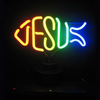 Neonetics Jesus Fish Neon Sculpture