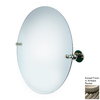 Allied Brass 22-in H x 22-in W Astor Place Round Frameless Bathroom Mirror with Beveled Edges